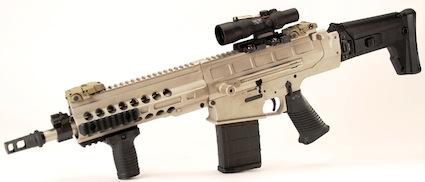 DRD Tactical Paratus-12 имеет укороченный ствол