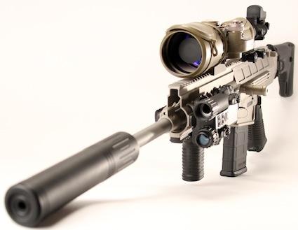 Полуавтоматическая винтовка DRD Tactical Paratus (.308/7.62х51 мм)
