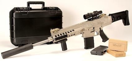 Полуавтоматическая винтовка DRD Tactical Paratus-16