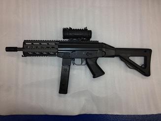 Любительская модификация чилийского пистолета-пулемёта FAMAE SAF