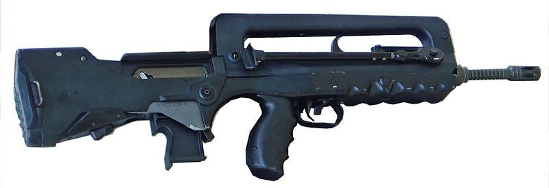 Французская штурмовая винтовка FAMAS