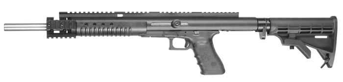Так выглядит полностью собранный карабин Glock
