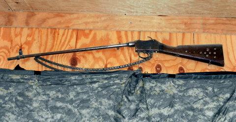Кавалерийских карабин Martini-Metford широко использовался в Первую Мировую войну