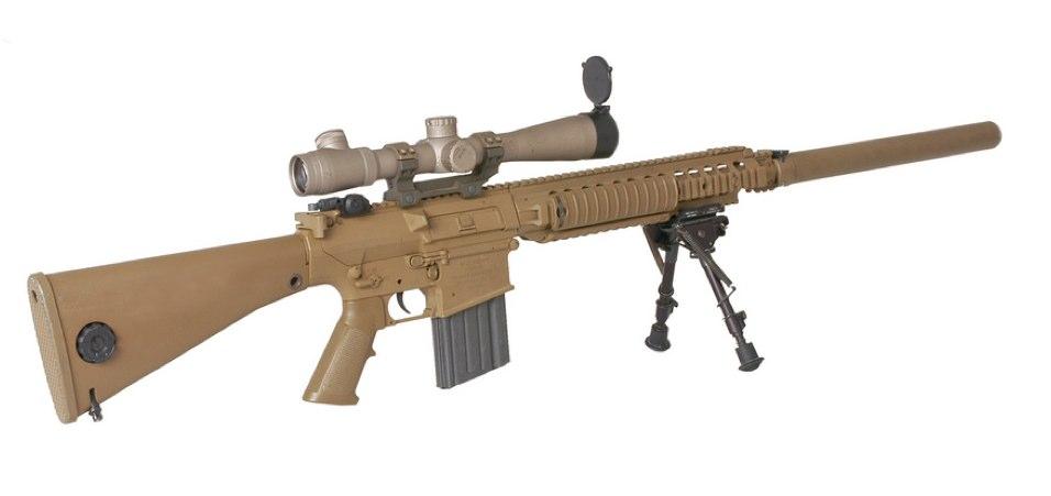 Американская полуавтоматическая снайперская винтовка М110 SASS