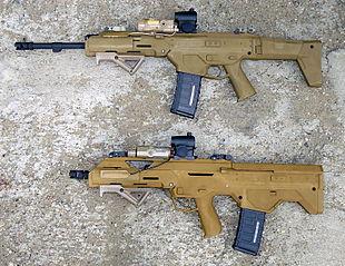 MSBS-5,56 (Модульная Стрелковая Система калибром 5.56 мм)