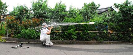 РПГ-7 для стрельбы водяными гранатами