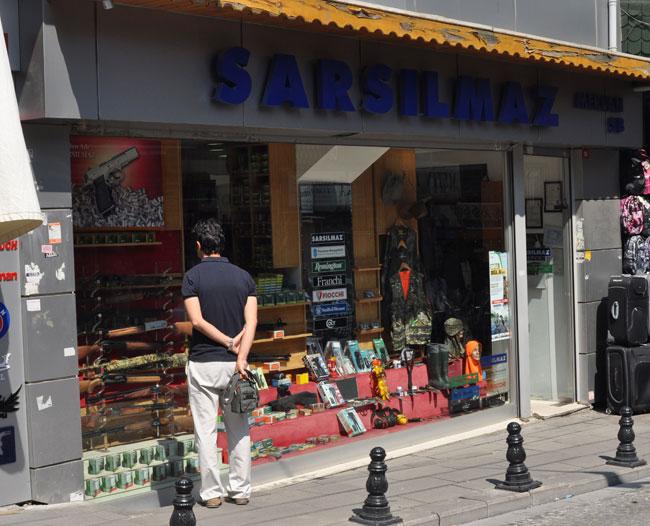 Фирменный магазин Sarsilmaz