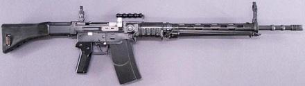 Швейцарская штурмовая винтовка SIG SG510/Stgw57 под патрон 7.5х55 мм