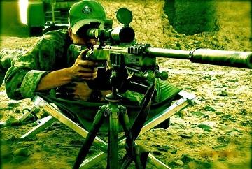 Снайперы морской пехоты США в Афганистане