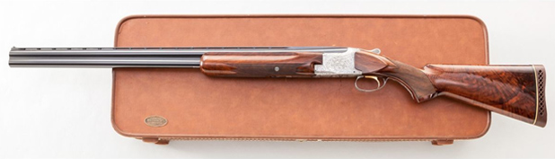 Двуствольное ружье с вертикальным расположением стволов Browning Superposed