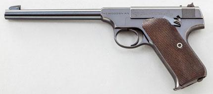Пистолет Colt Woodsman под патрон .22 (5.6 мм)