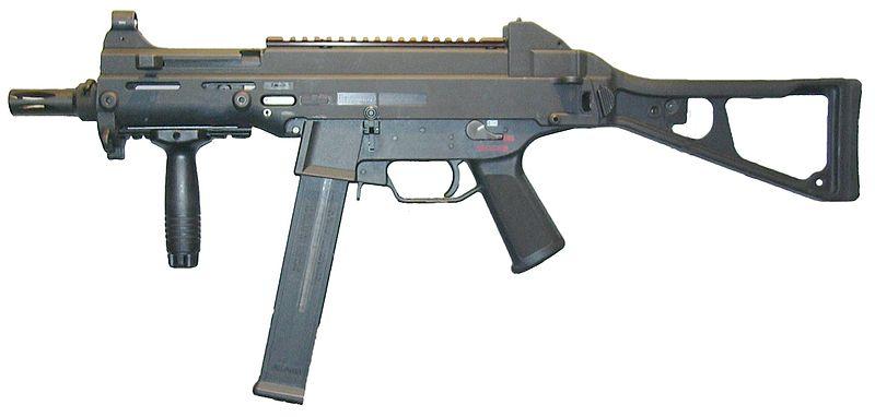 Пистолет-пулемет H&K UMP-9 под 9 мм патрон основной кандидат на место MP6