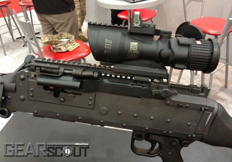 Крепежная планка для ручного пулемета М240