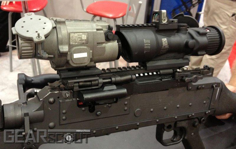 Планка Пикатинни для ручного пулемета М240 | Стрелковое оружие ...