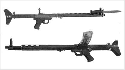 Винтовка LMR (Low-Maintenance Rifle), США