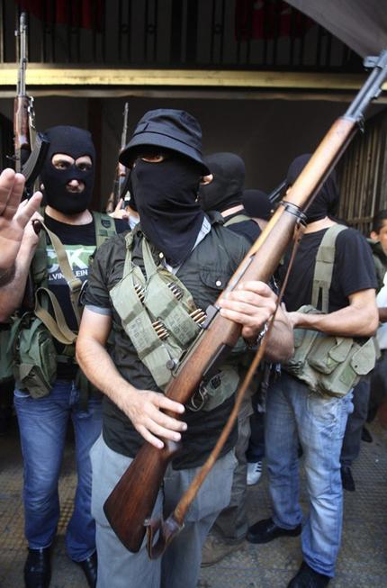 M1 Garand у сирийских боевиков