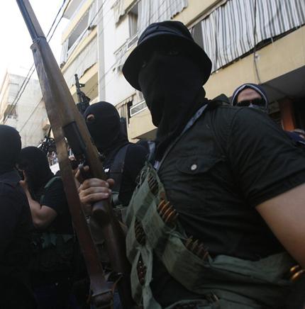 M1 Garand в руках сирийского инсургента