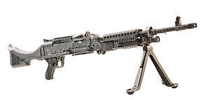 Ручной пулемет М240 калибром 7.62х51 мм