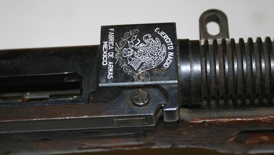 Ручной пулемёт Mendoza. Клеймо производителя