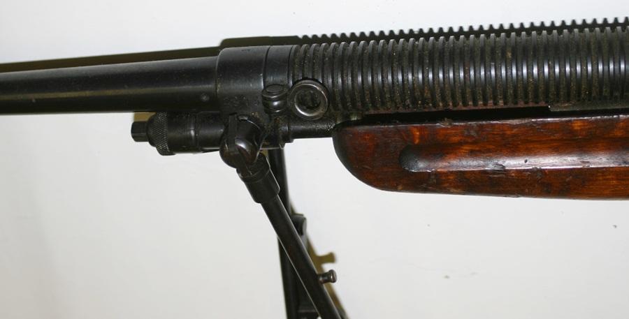 Ручной пулемет Mendoza. Сошки