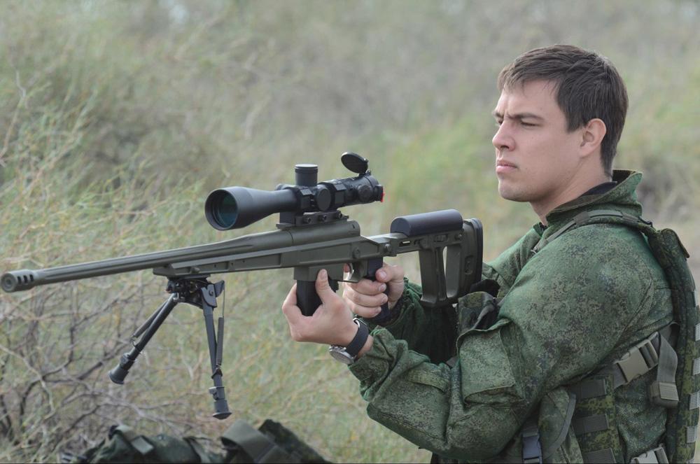 Винтовка ORSIS на испытниях нового российского оружия