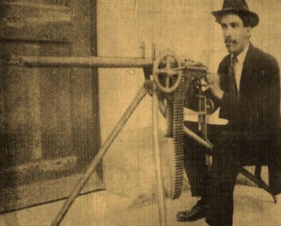 Рафаэль Мендоса талантливый мексиканский оружейник