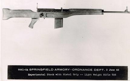 Прототип американской штурмовой винтовки Т-28