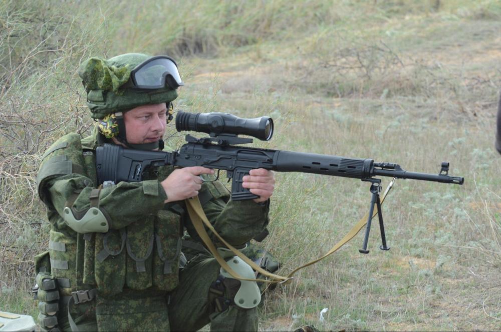 Обновленная винтовка СВД