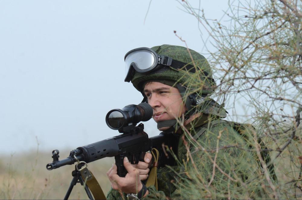 Обновленная винтовка СВД на испытаниях