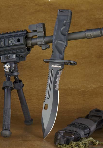 Новый американский штык-нож Bushmaster имеет длину 178 мм,  ширину 35 мм и 4 мм толщину