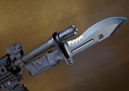 Новый американский штык-нож Bushmaster