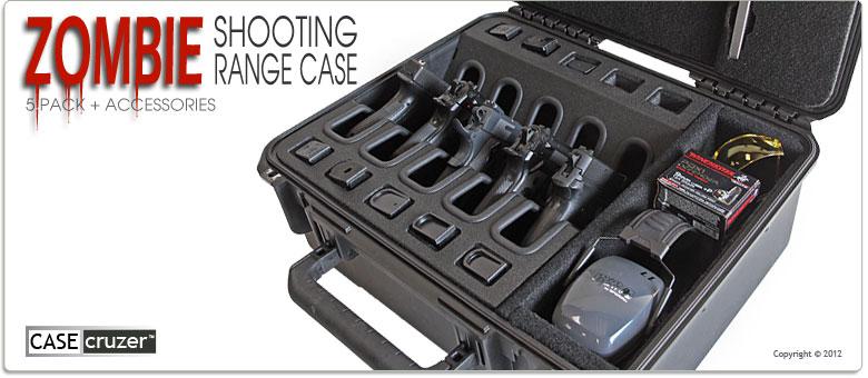 Ящик CaseCruzer  для транспортировки пистолетов