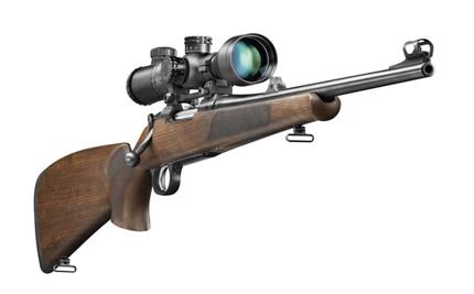 Магазинная винтовка Ceska Zbrojovka CZ 557 с оптическим прицелом