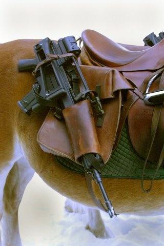 Лошадиная кобура для штурмовой винтовки G36