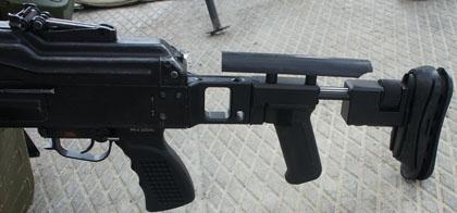 Приклад от компании Зенит для пулеметов ПК и Печенег