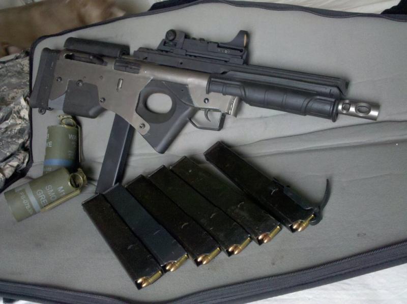 9 мм буллпап Франкенган