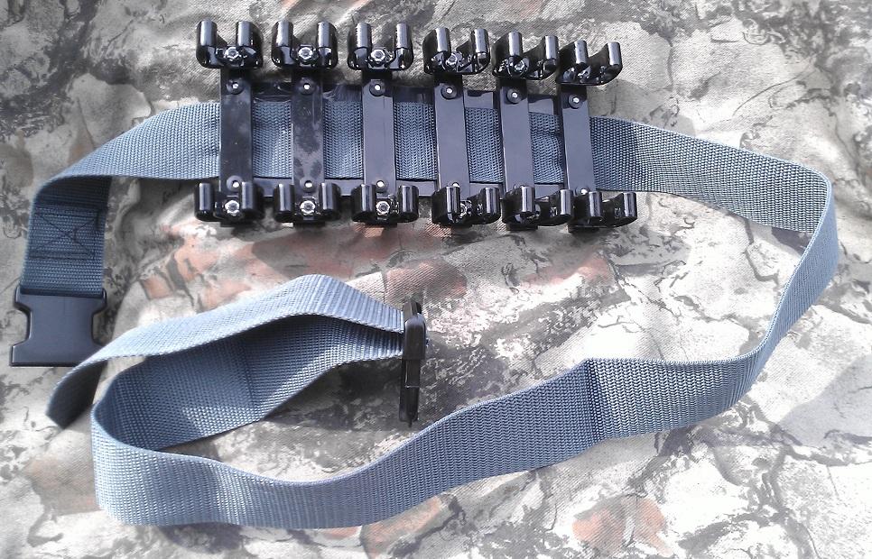 Патронташ на 12 патронов от компании TacCom