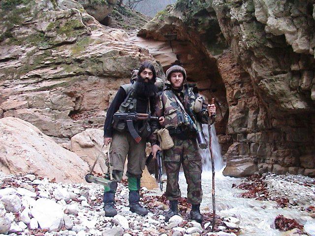 Имеются на вооружение боевиков и гранатометы