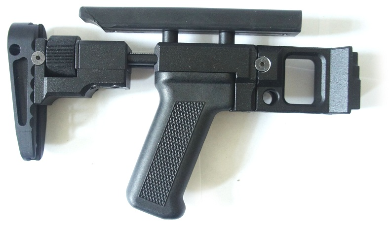 Приклад ПТ-2 Классика от российской компании Зенит для пулеметов ПК и Печенег. Стоимость приклада 10000 рублей