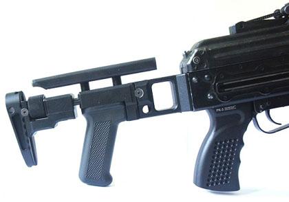 Приклад ПТ-2 Классика от компании Зенит для пулеметов ПК и Печенег