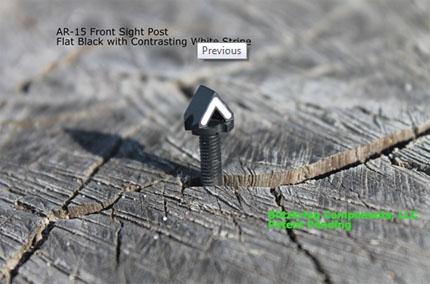 Blitzkrieg Components представила прицел-мушку выполненную в виде шеврона