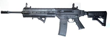 Новая полуавтоматическая винтовка  MPAR 556 от компании MasterPiece Arms