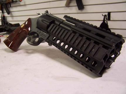 Тактический револьвер