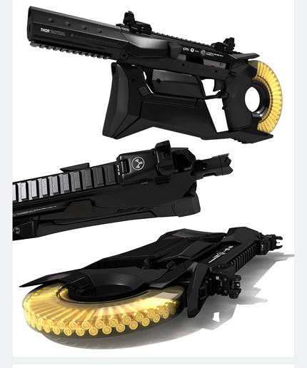 Оружие может комплектоваться глушителем с нижней направляющей
