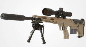 Компания Desert Tactical Arms специально к 2013 году провела модернизацию своей буллпап-винтовки SRS (Stealth Recon Scout)