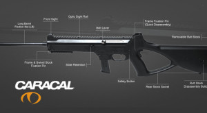 Схема 9 мм карабина CC10 от компании Caracal