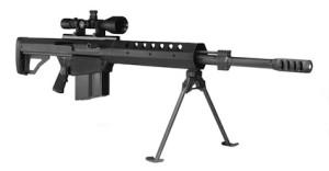 Полуавтоматическая снайперская винтовка калибром .50 BMG от компании Serbu Firearms