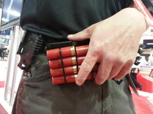 Патронташ Carbon Arms TWinS для ускорения перезарядки гладкоствольного ружья