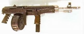 ITM Model 3 или ITM-3 – комбинация пистолета-пулемета и карабина. Нижний ствол под патроны калибром 9х19 мм с магазином от Узи, верхний ствол под патрон 7,62х51 мм и магазин от АК