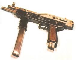 Пистолет-пулемет ITM Model 4 с двумя стволами и двумя магазинами
